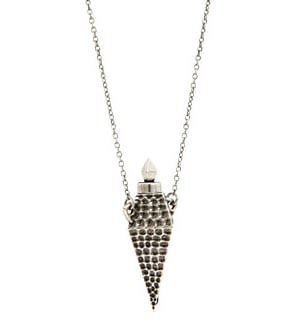 House of Harlow hammered-diamond vessel necklace ($113, originally $125), which will add instant cool to any of your sister's outfits.