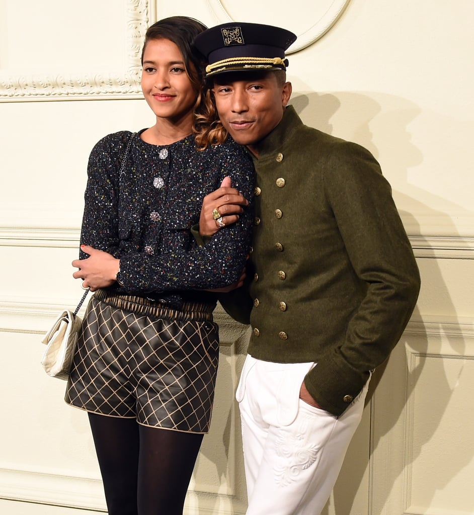 Pharrell Williams makes nonstop jams, and his wife since 2013, the superstylish Helen Lasichanh, seems just as cool. Together, they're one of the cutest and most fashion-forward couples in Hollywood. Though the parents of four kids (they welcomed triplets in 2017, after the 2008 arrival of their first son, Rocket) are intensely private about their relationship, they've occasionally stepped out together. In between their fiercely fashionable appearances, the Voices of Fire star and the model tend to show a little PDA, like a quick kiss and almost-constant handholding. It just shows that no one's too cool for true love. Look ahead to see some of their most adorable snaps!      Related:                                                                                                           Pharrell Curtsying to Prince Harry and Meghan Markle Is Practically Too Cute to Handle