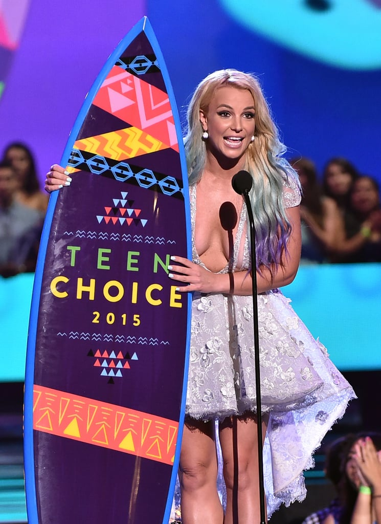 Britney Spears Is a Superhot and Adoring Mum at the Teen Choice Awards
