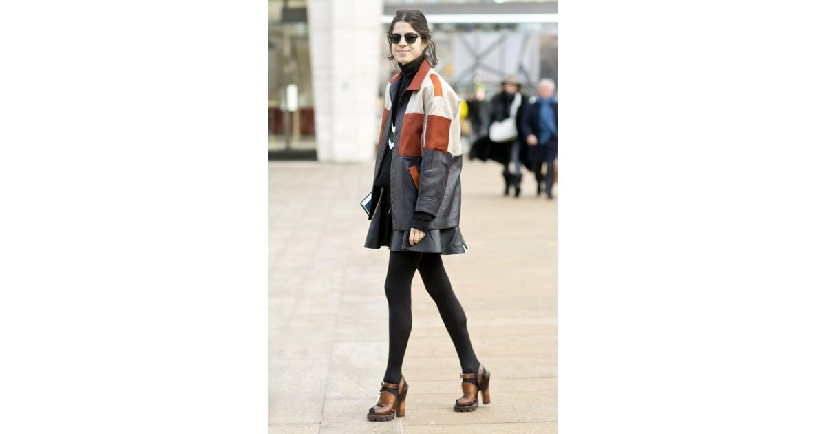 Nyfw Street Style Day 3 Best Street Style At New York Fashion Week Fall 2014 Popsugar