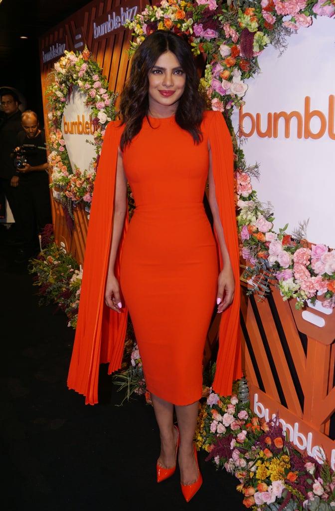 Priyanka Chopra at the Bumble Event in Mumbai