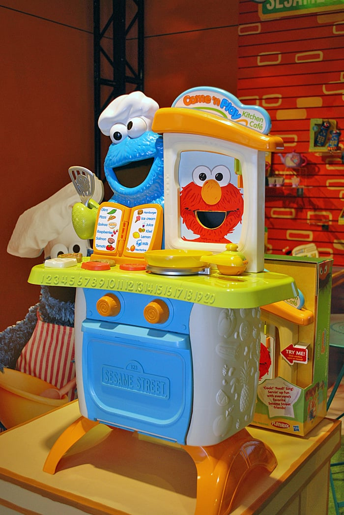 Sesame Street Come And Play Kitchen Behind The Scenes At Toy Fair 2012 Popsugar Family Photo 16
