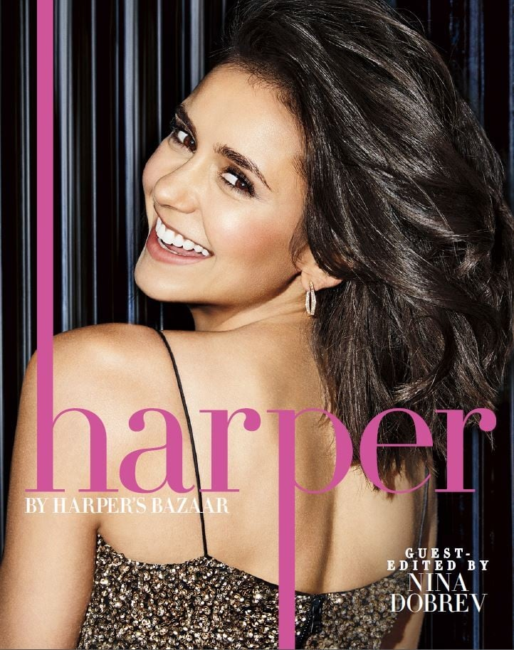 Nina Dobrev Harper's Bazaar Cover September 2017