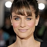 Amanda Peet smiled in LA.