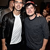Joe Jonas and Josh Hutcherson