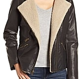 Levi's Hooded Faux Shearling Jacket ($168)