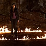 Elena's problems are rarely run-of-the-mill issues — such as finding herself in a ring of fire.