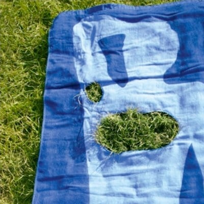 """Must-See: Gillette Towels Use Grass as """"Body Hair"""" 2011-06-22 14:14:37"""