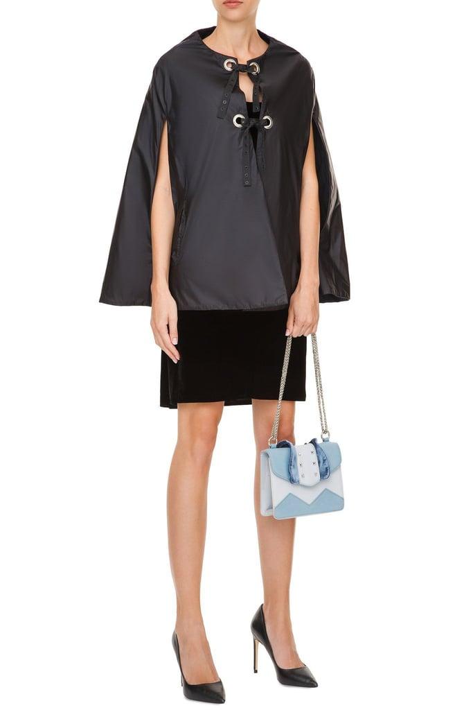 Adriana Morandi Tie Front Cloak