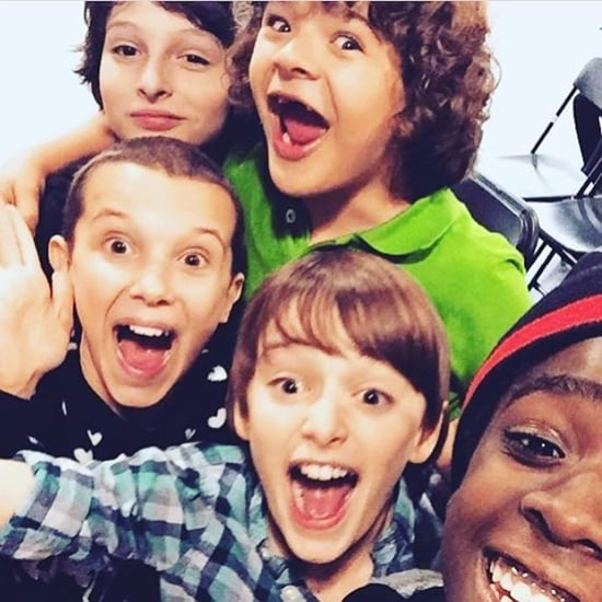Stranger Things Cast Instagram Pictures