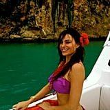 Sofia went boating during a May 2012 tropical trip.  Source: Who Say user Sofia Vergara
