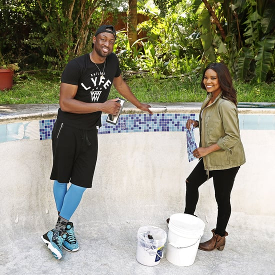 Gabrielle Union and Dwyane Wade in HGTV Show