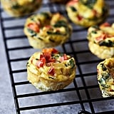 Vegetarian: Mini Frittata Egg Bites
