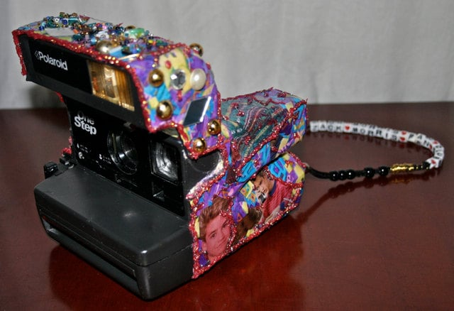 Polaroid instant film camera ($25)