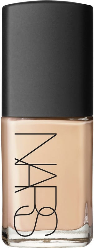 Nars Sheer Glow Foundation ($47) comes in 20 shades.