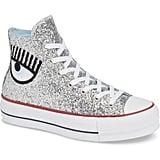 Converse x Chiara Ferragni 70 Hi One Star Glitter Platform Sneaker