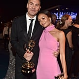 Pictured: Ol Parker and Thandie Newton