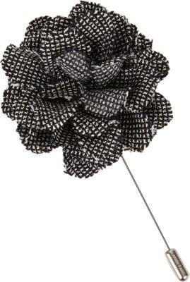 Lanvin Birdseye Floral Tie Pin ($195)
