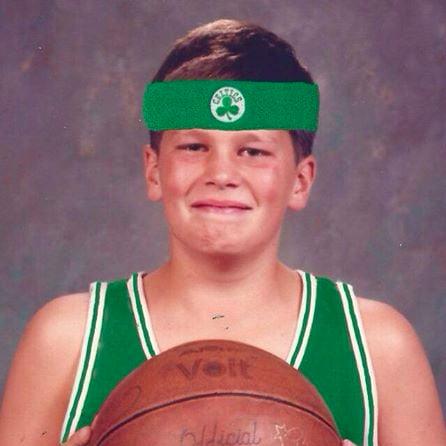 Tom Brady Throwback Photos