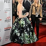 Amy Adams was completely lovely in a floral fit-and-flare Dolce & Gabbana dress at the AFI Fest.