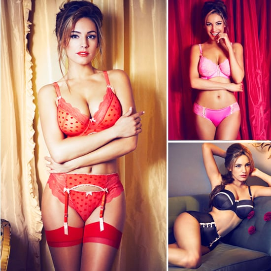 Kelly Brook Lingerie Launch with New Look