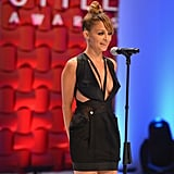Nicole Richie took the stage at the Style Awards.