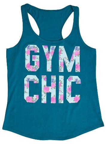 Fifth Sun Women's Gym Chic Graphic Tank