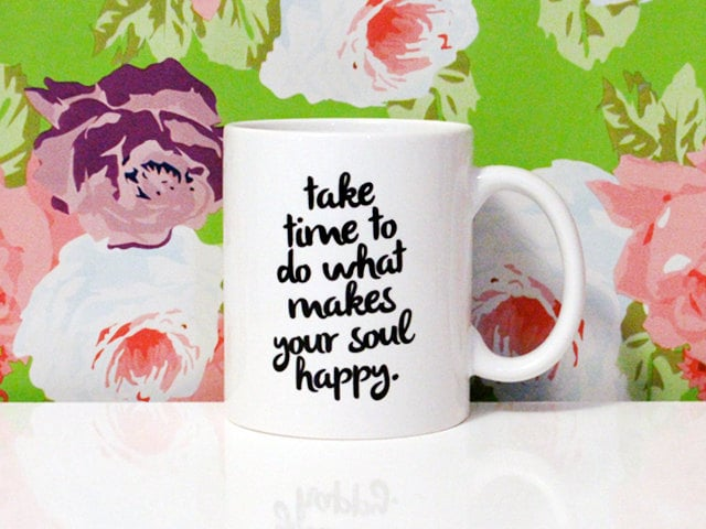 Happy Soul Coffee Mug ($16)