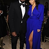 Kim Kardashian and Kanye West were dressed to the nines for the NYC Angel Ball in October 2012.