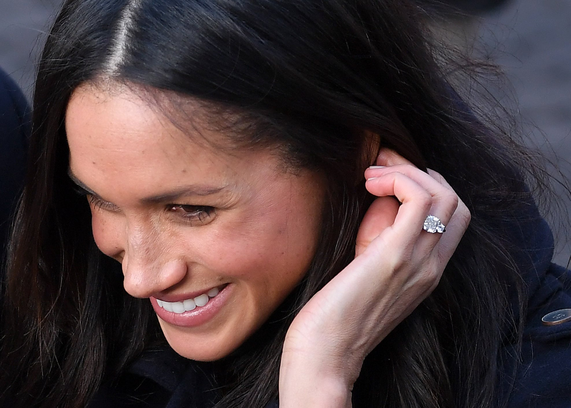 Why Does Meghan Markle Always Touch Her Hair Popsugar