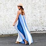 Sunward Chiffon Dress
