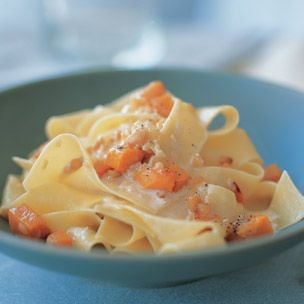 Fast and Easy Recipe For Pappardelle With Roasted Squash
