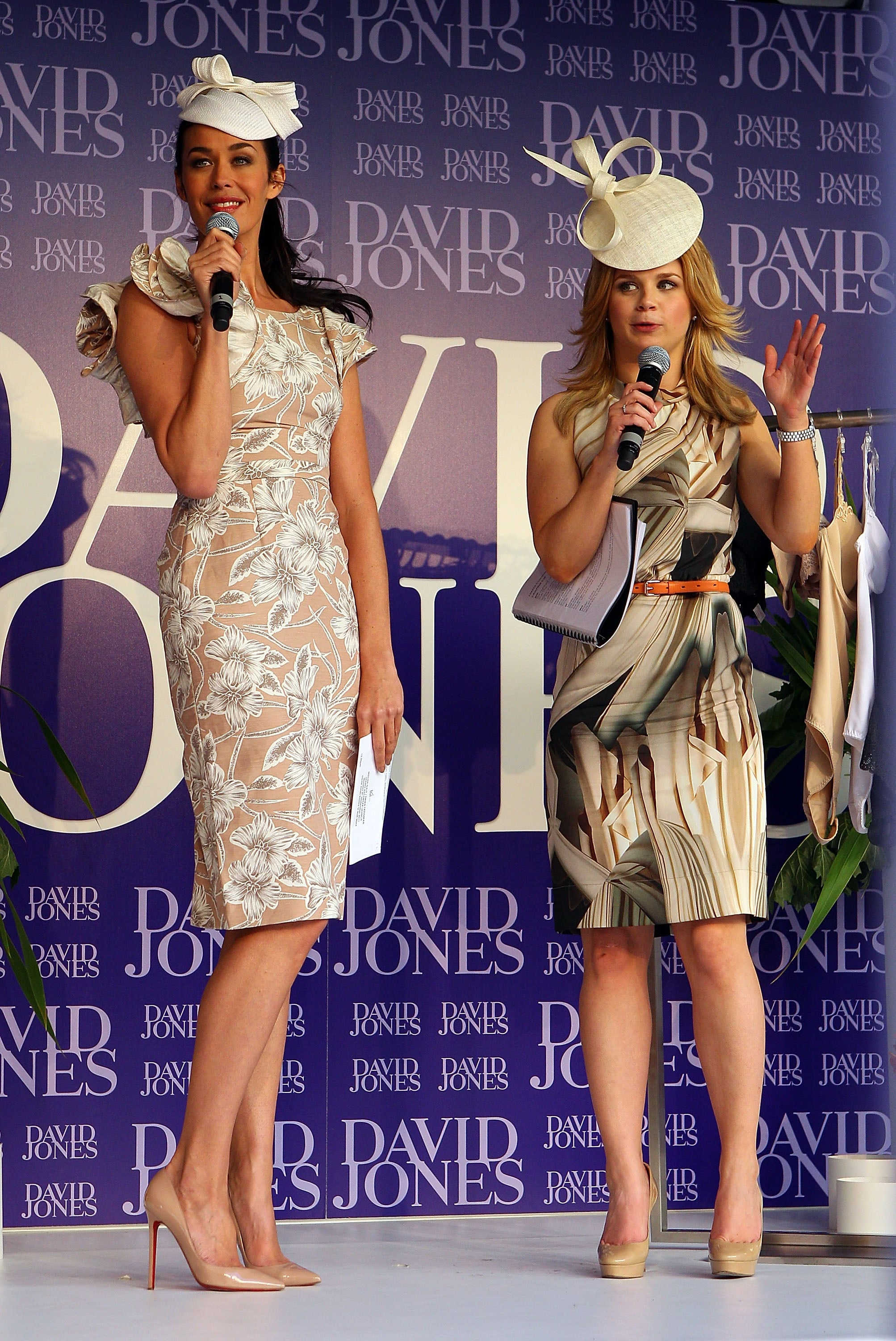 Megan Gale and Emma Freedman
