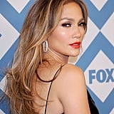 Jennifer Lopez With Blond Highlights in 2014