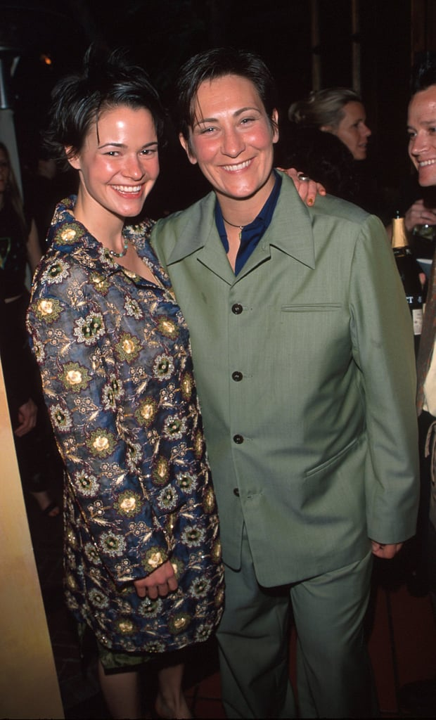 Leisha Hailey And K D Lang Celebrity Couples At The