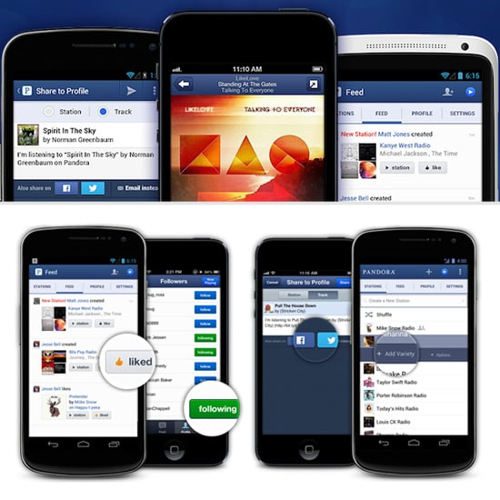 Pandora For iPhone and Android | POPSUGAR Tech