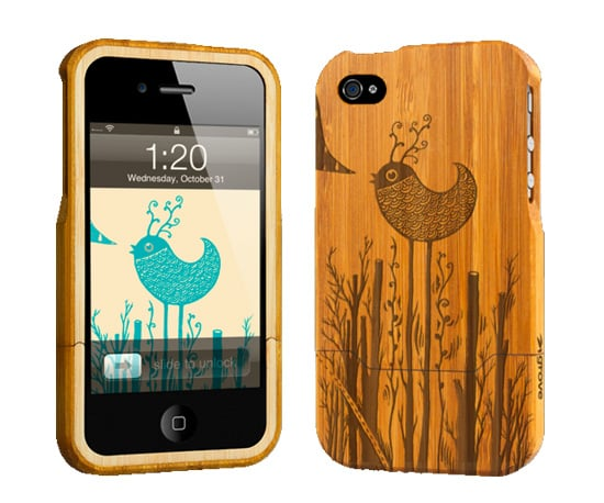 Grove iPhone 4 Etched Bamboo Case ($89)