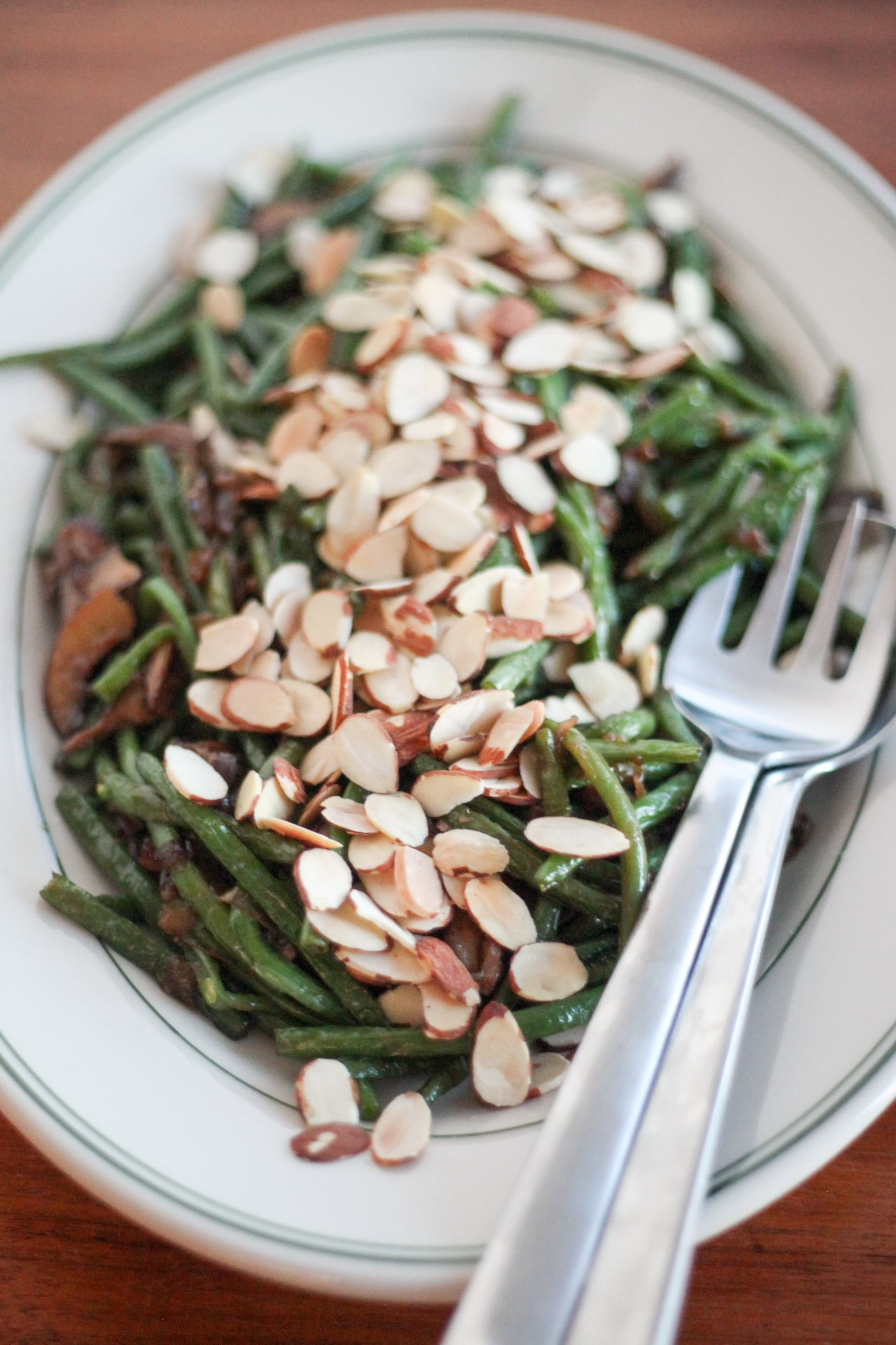 Blistered Green Beans With Mushrooms and Caramelized ...