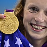 Meet Katie Ledecky, Team USA's youngest member.The 15-year-old  picked up gold in the 800m freestyle. Not bad at all.