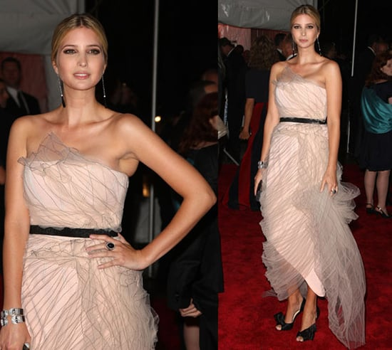 The Met's Costume Institute Gala: Ivanka Trump