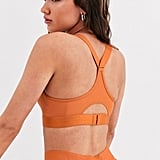 Adidas Training High Support Bra in Copper