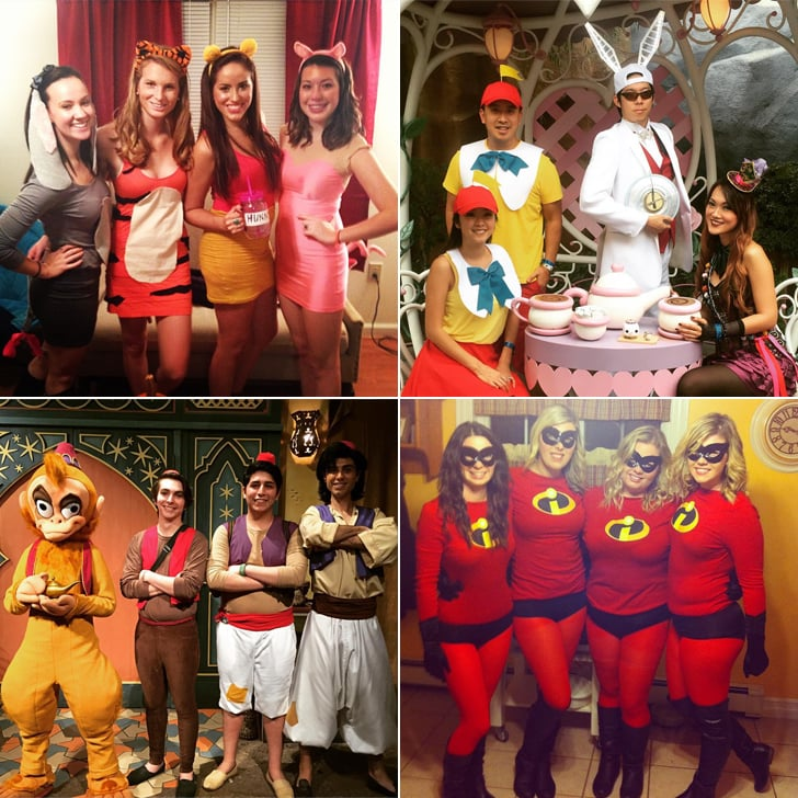 DIY Disney Group Costumes  sc 1 st  Popsugar & DIY Disney Group Costumes | POPSUGAR Smart Living