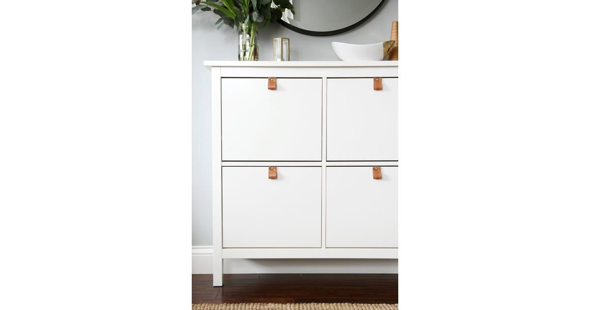 hemnes shoe cabinet ikea shoe storage popsugar home australia photo 1. Black Bedroom Furniture Sets. Home Design Ideas