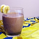 Nutty Chocolate Strawberry Banana Smoothie