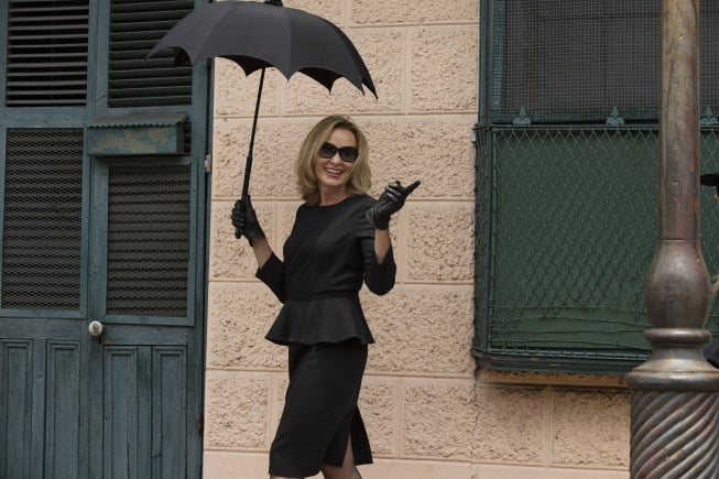 Jessica Lange as Fiona in American Horror Story: Coven.