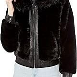 BLANKNYC Faux Fur Coat