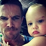 Stephen and Mavi were ready for their close-ups in November 2014.