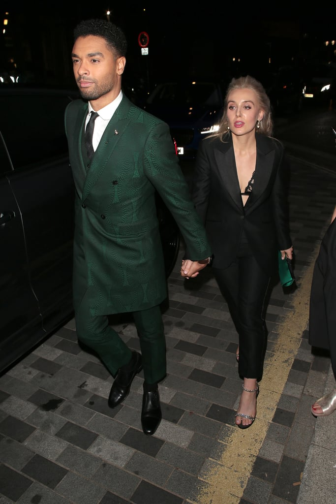 It was date night for Regé-Jean Page and Emily Brown at this year's GQ Men of the Year Awards. On Sept. 1, the rumored couple looked glamorous when they arrived hand in hand at the London ceremony. Even though the pair attended the show together, the 31-year-old Bridgerton star walked the red carpet solo before making his way inside, where he was honored with the award for standout performance of the year. Regé and Emily were first linked together when they were spotted hugging in London this past February. Wednesday's star-studded event marked their first joint public appearance. Given that Regé rarely talks about his personal life, not much else is known about the status of their relationship, so in the meantime, please enjoy these photos of Regé and Emily ahead.      Related:                                                                                                           The Only Person Still Doubtful About Those Regé-Jean Page James Bond Rumors? Regé-Jean Page