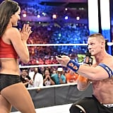 John Cena and Nikki Bella Engaged April 2017