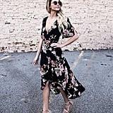 Sunward Bohemian Floral Print Dress